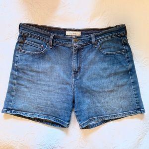 "Levi's 515 Denim Jean Shorts 5"" Inseam Size 12"